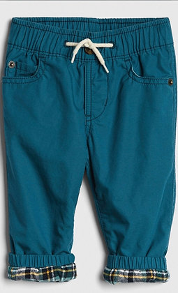 Baby Gap | Flannel lined Pull-on pants