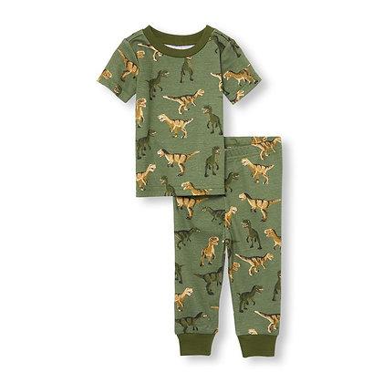 Children's Place | Dino snug fit pajamas