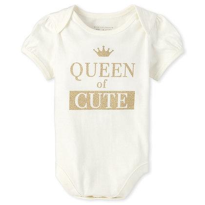children's Place   Glitter queen bodysuit
