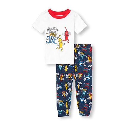 Children's Place | Fast food snug pajamas