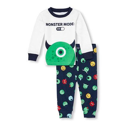Children's Place | Monster snug fit pajamas