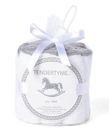 Tendertyme | 10 Pack Super Soft Washcloth