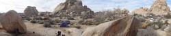 Camp Site, Joshua Tree, California