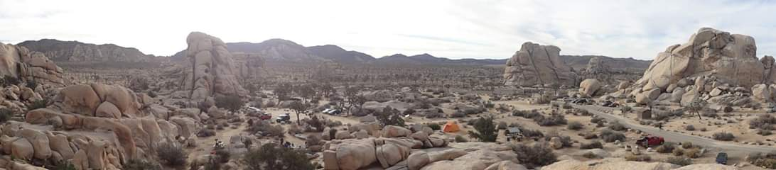 Our Camp Site in Joshua Tree