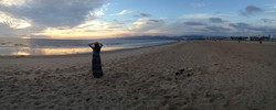 Relaxing on Venice Beach