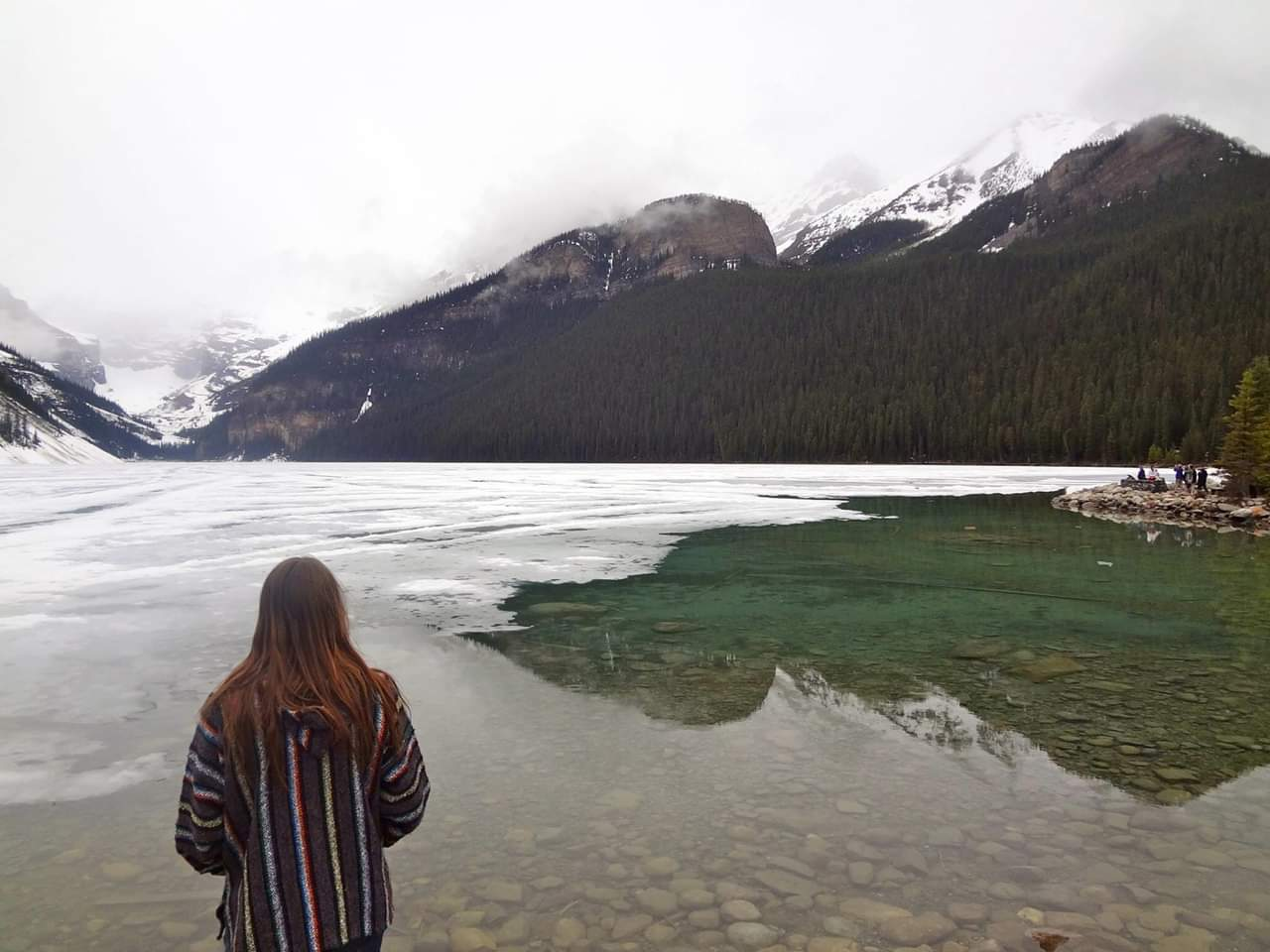Lake Louise with David