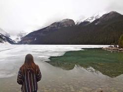 Lake Louise with David