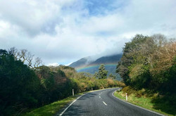The open road..