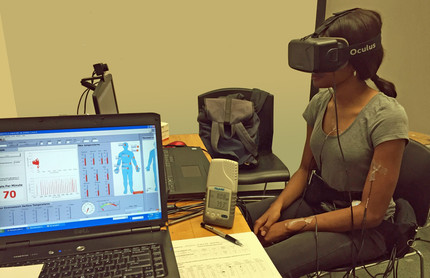 Investigation on the Physiological Differences between Immersive Virtual Environment and Indoor Envi