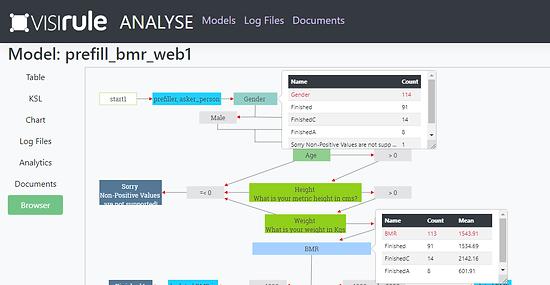 VisiRule Decision Automation Analytics