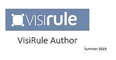 VisiRule Author Slides