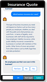 Expert Insurance ChatBot Decision Tree Software