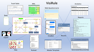 VisiRule Expert Systems Components Overv