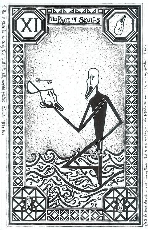Page of Skulls