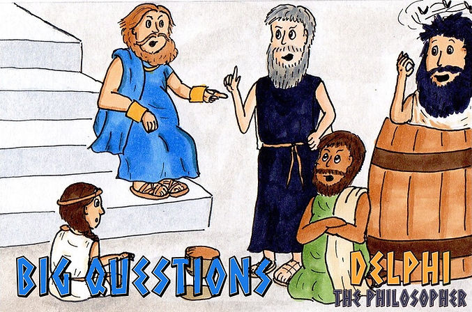 Delphi the Philosopher: Big Questions