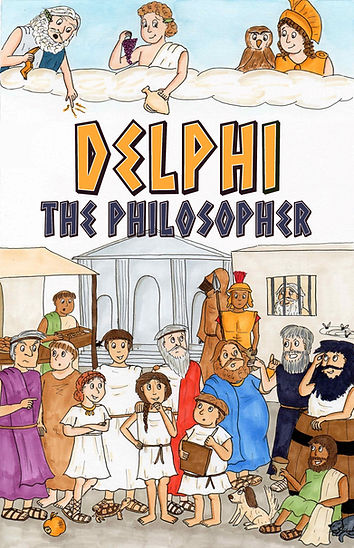 Delphi the Philosopher Cover