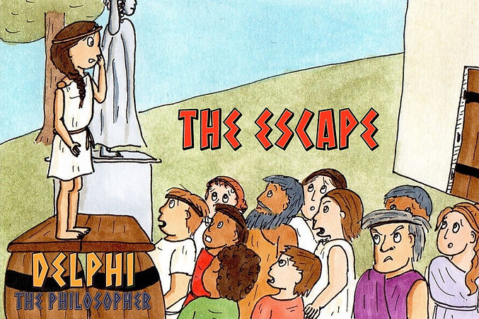 Delphi the Philosopher: The Ecape