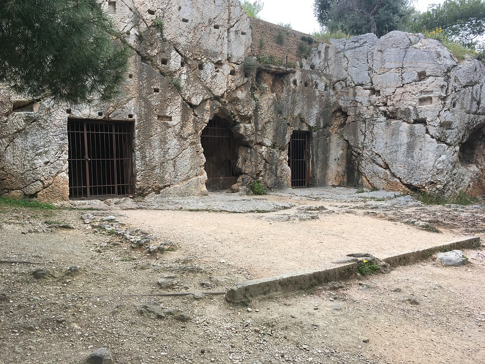 Prison of Socrates, Athens