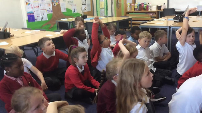 Teacher introducing why questions