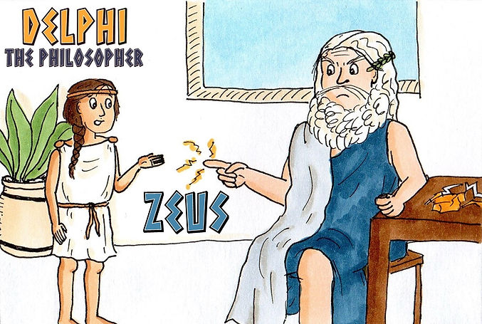 Delphi the Philosopher: Zeus