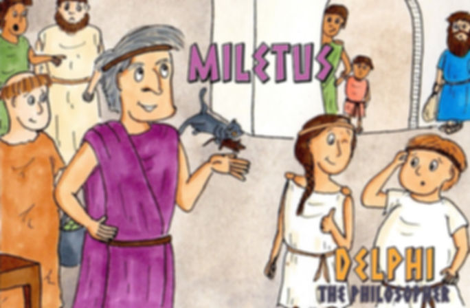 Delphi the Philosopher: Miletus