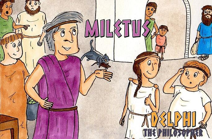 Delphi the Philosopher: Miletus