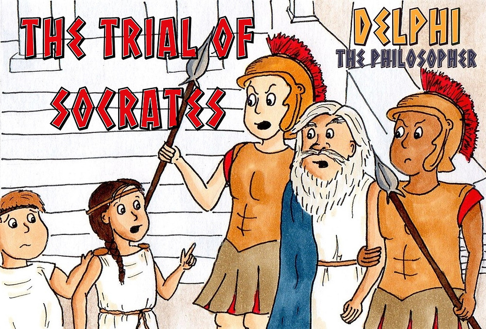 The Trial of Socrates from Delphi the Philosopher