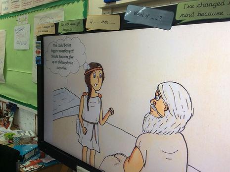 Socrates' question