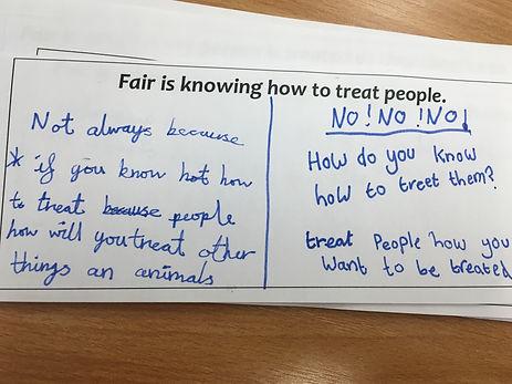 What does fair mean?