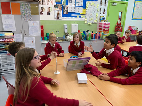 Children debating
