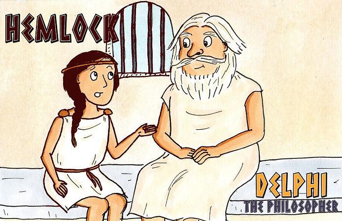 Delphi the Philosopher: Hemlock