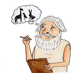 Socrates Writing
