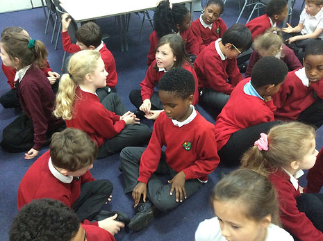 Children discussing