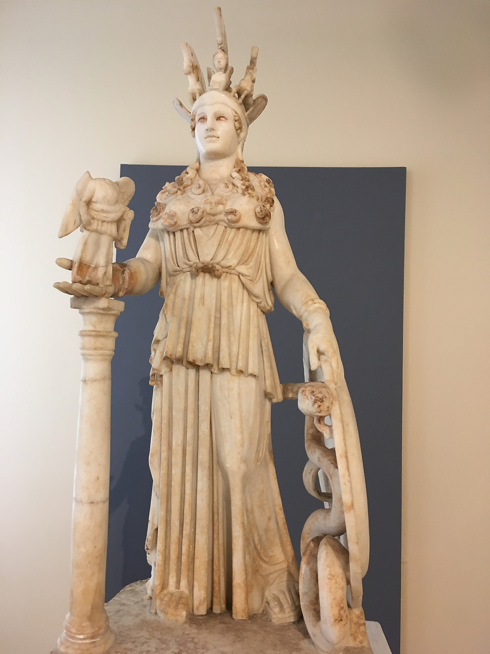 Statue of Athena, Archaeological Museum, Athens