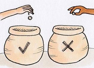 Voting jars