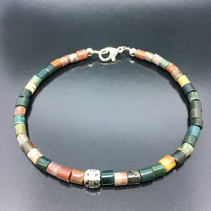 Men's Mix Jade Beaded Thai Bracelet