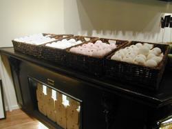soap ball display