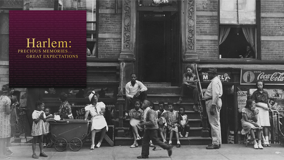 Harlem: Precious Memories... Great Expectations