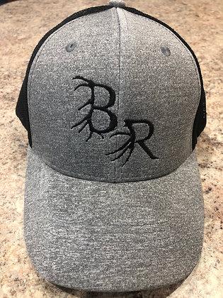 Elk/deer BR Grey/Black Snapback