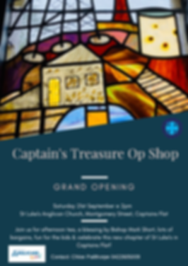 Captain's Treasure Anglicare Retail.png