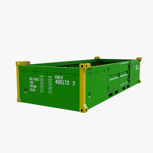 20 Half Height Container