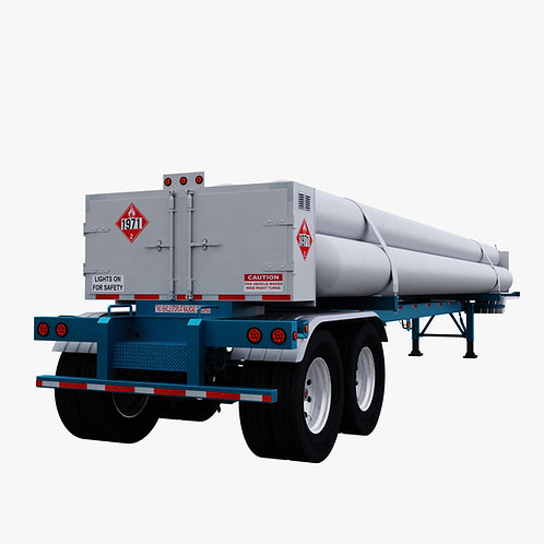 CMW 7 Tube Trailer Blue
