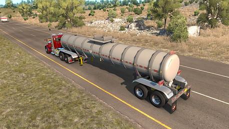 Fruehauf Tank On the road