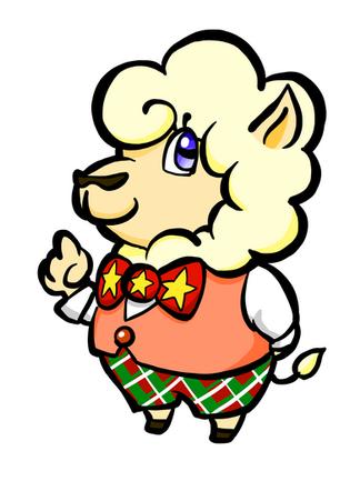 ぼっちゃん羊
