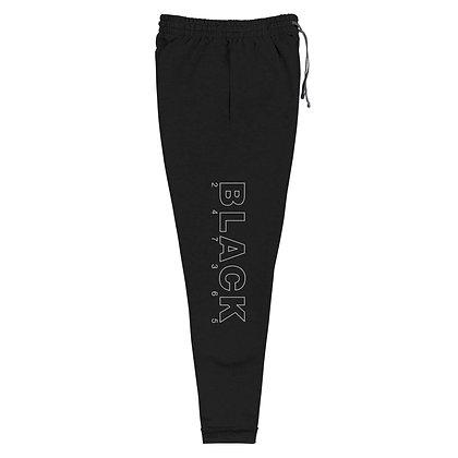 BLACK 247365 Unisex Joggers