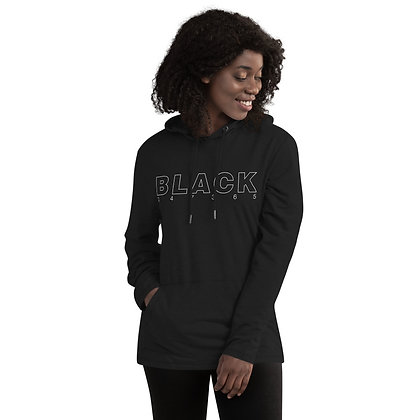BLACK All Day Every Day Unisex Lightweight Hoodie
