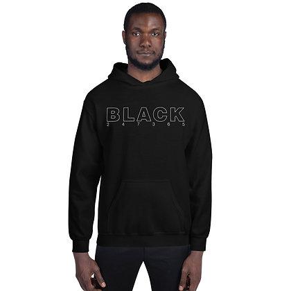 BLACK 247365 Unisex Hoodie