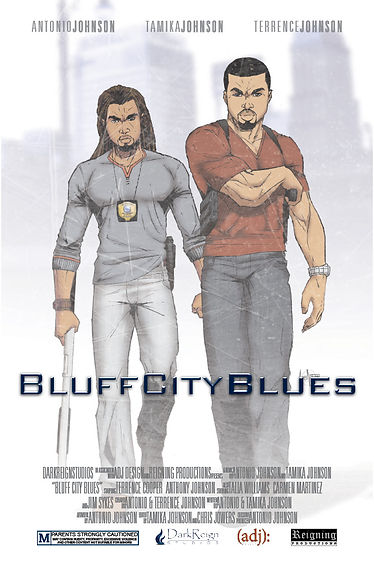 Bluff City Blues cover illustration