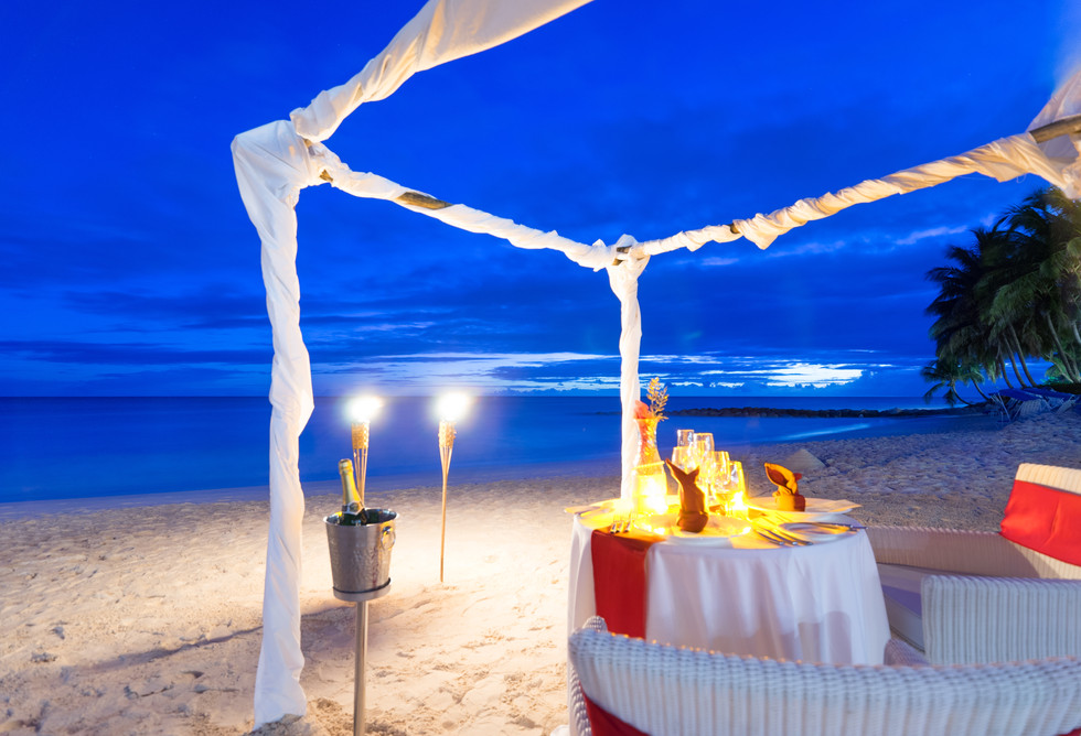 Candlelit Beach Dinner