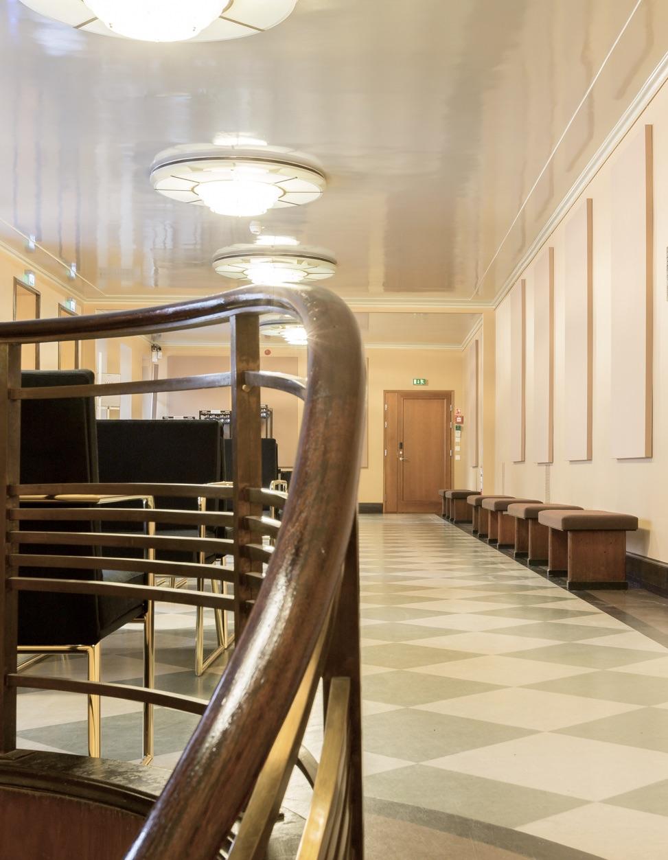 Savoy-teatterin aulatilat
